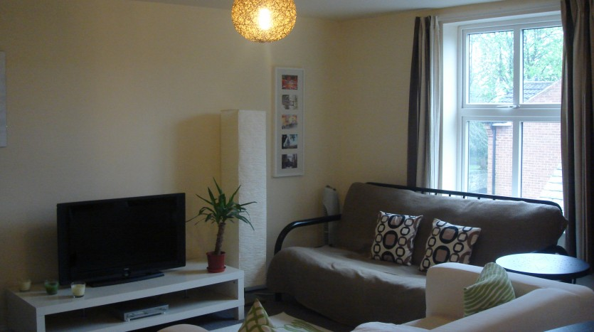 LOUNGE 1 BED LOUGHBOROUGH APARTMENT