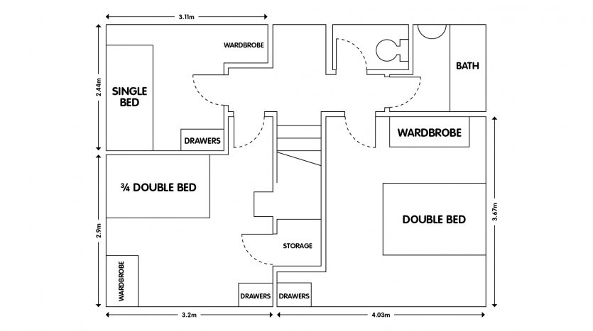 61 Sharpley Road Floor Plans
