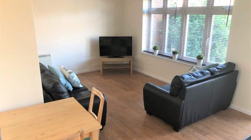 Student accommodation Loughborough lounge