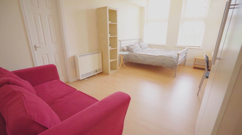 Loughborough student studio apartment